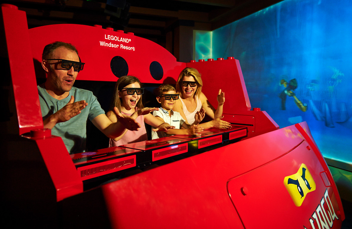 LEGO® NINJAGO® The Ride at the LEGOLAND Windsor Resort