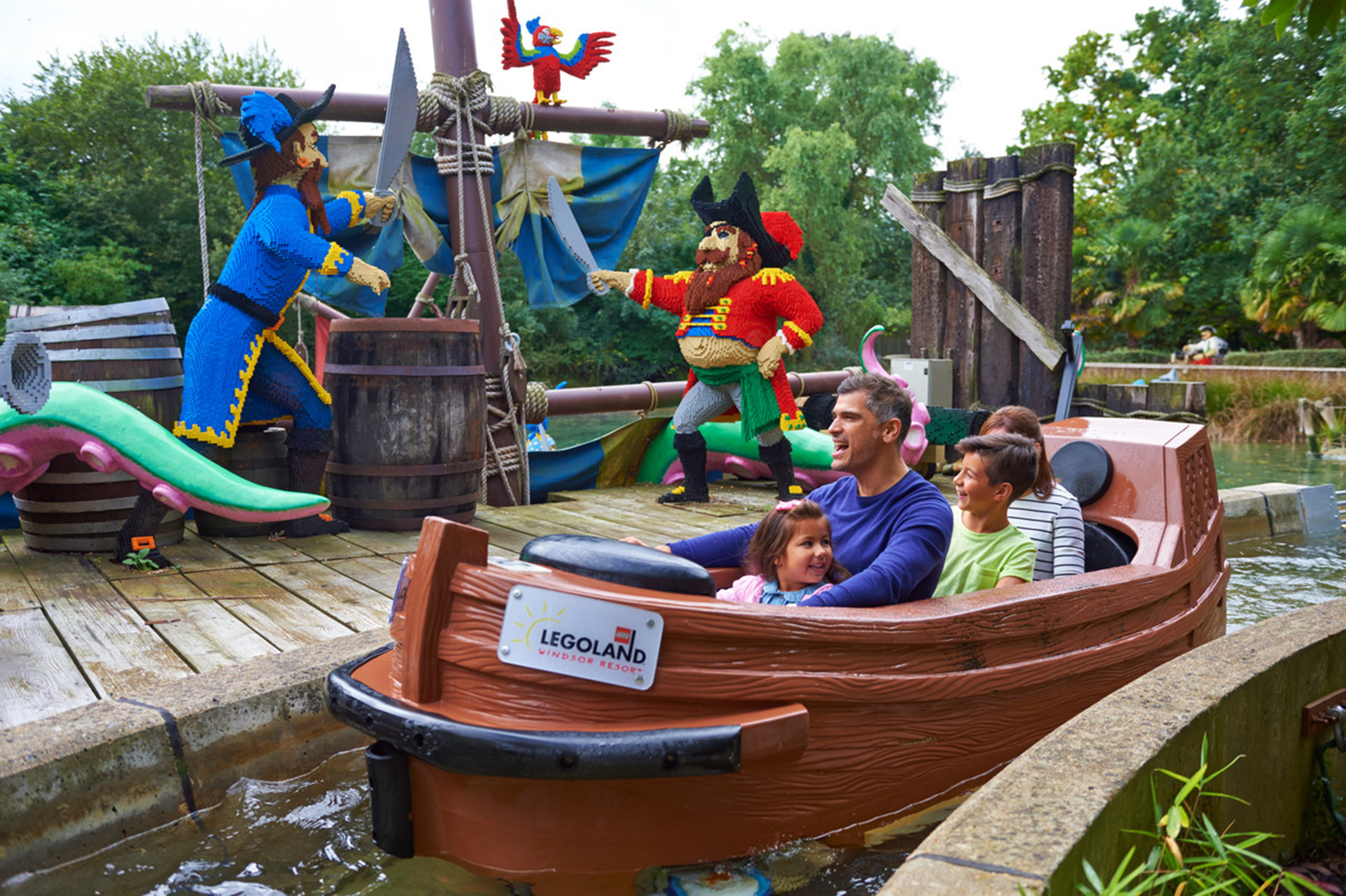Pirate Falls at the LEGOLAND® Windsor Resort