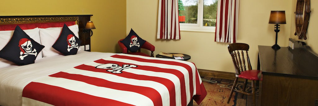 Pirate Themed Room at the LEGOLAND® Windsor Resort