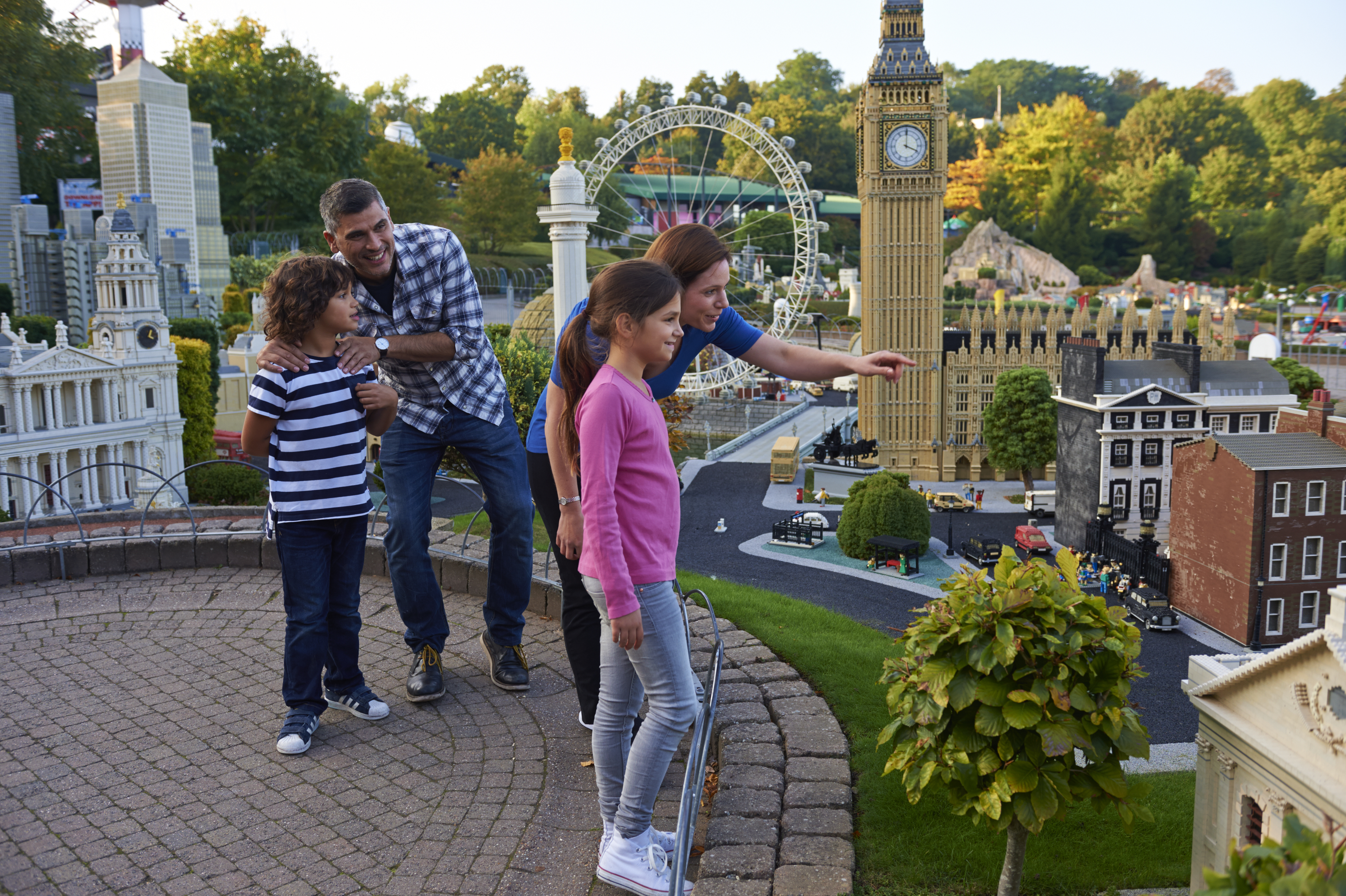 Miniland at the LEGOLAND Windsor Resort