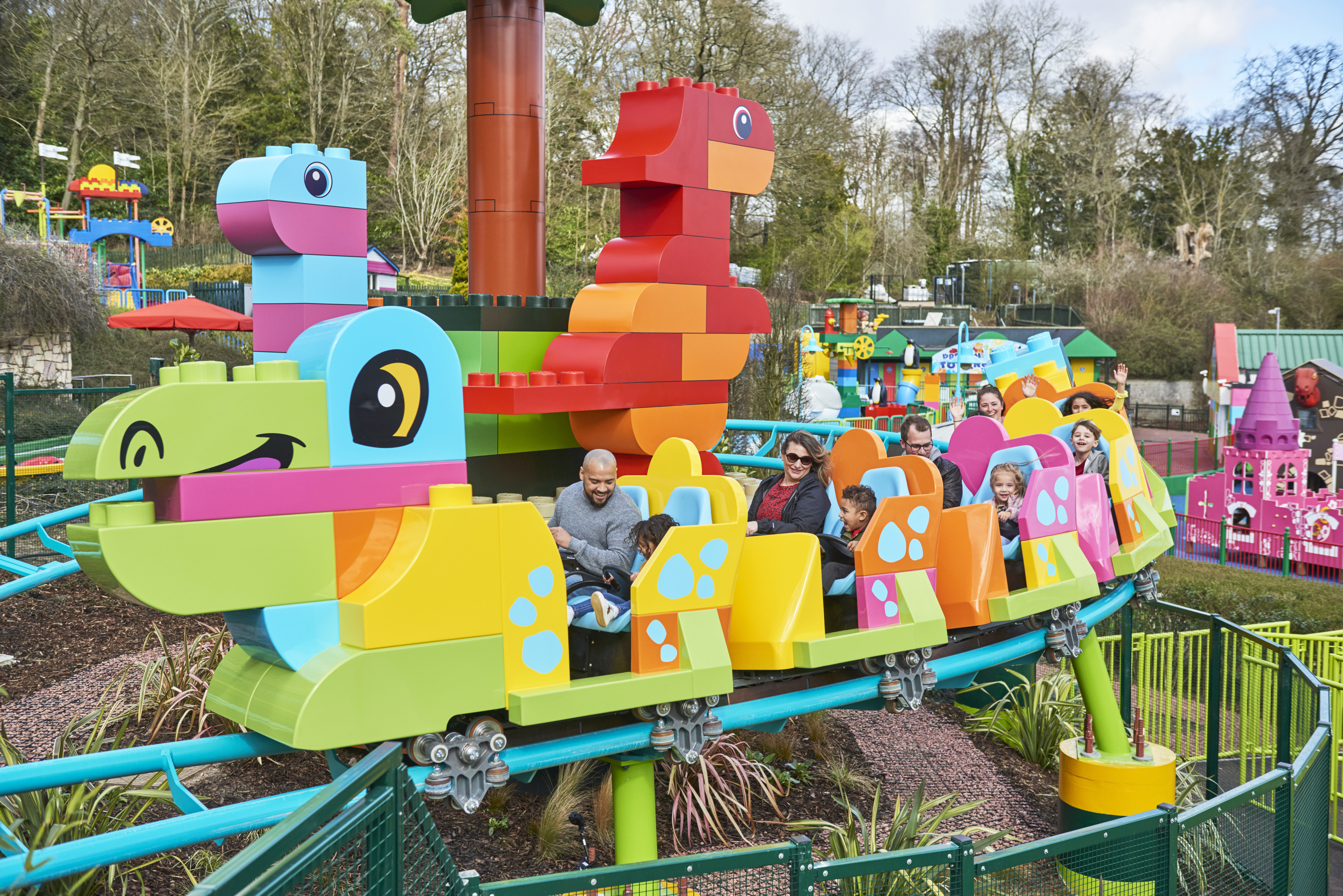 DUPLO® Dino Coaster at the LEGOLAND® Windsor Resort
