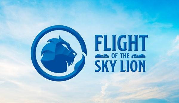 MYTHICA FLIGHT OF THE SKY LION ARTWORK RGB