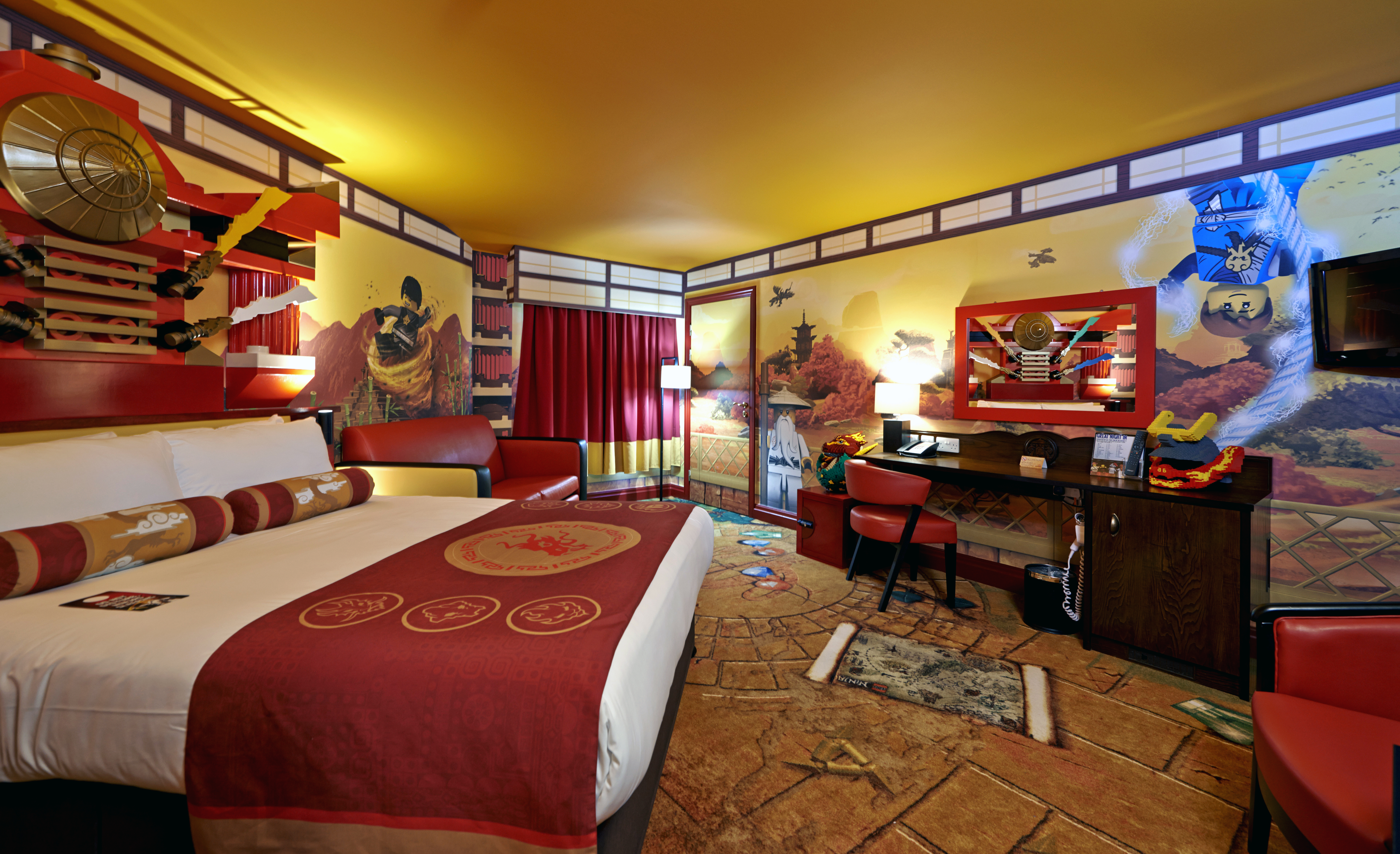 LEGO® NINJAGO® Room at LEGOLAND® Windsor Resort