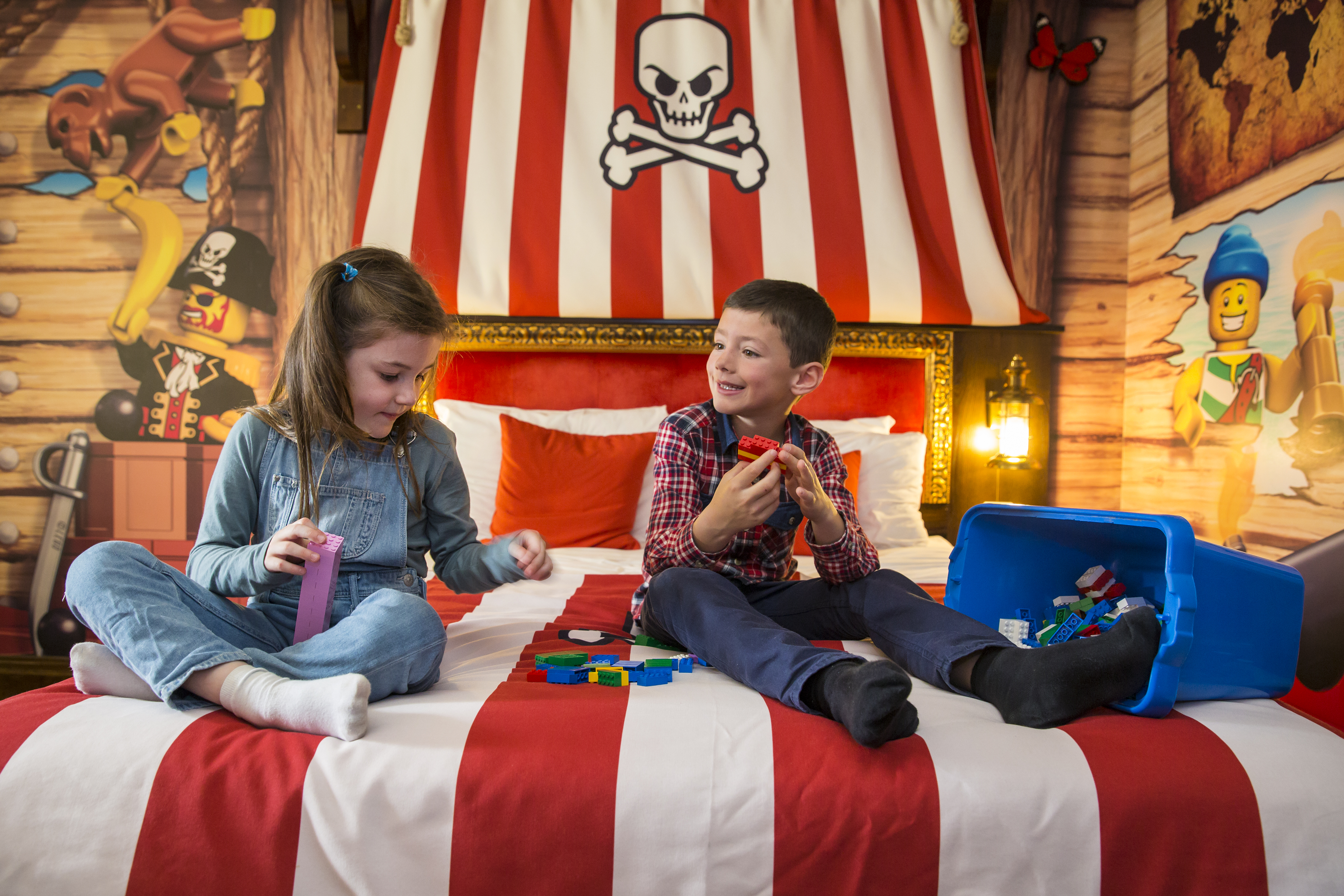 Pirate Room At LEGOLAND Windsor