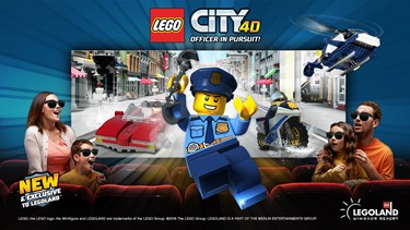 LEGO City 4D Officer In Pursuit! At LEGOLAND Windsor
