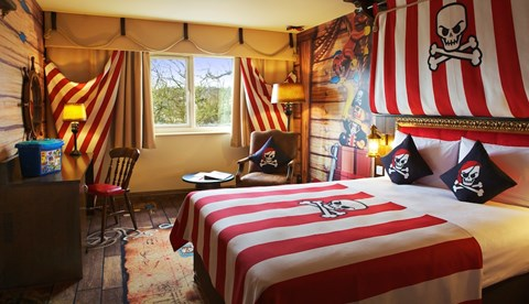 Pirate Premium Room at the LEGOLAND® Windsor Resort