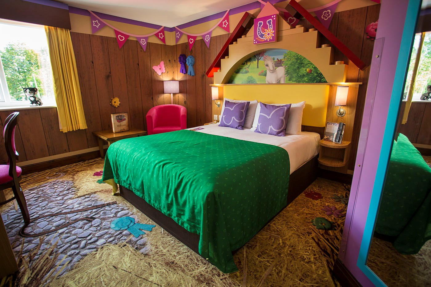 LEGO® NINJAGO® Hotel Rooms | LEGOLAND® Windsor Resort