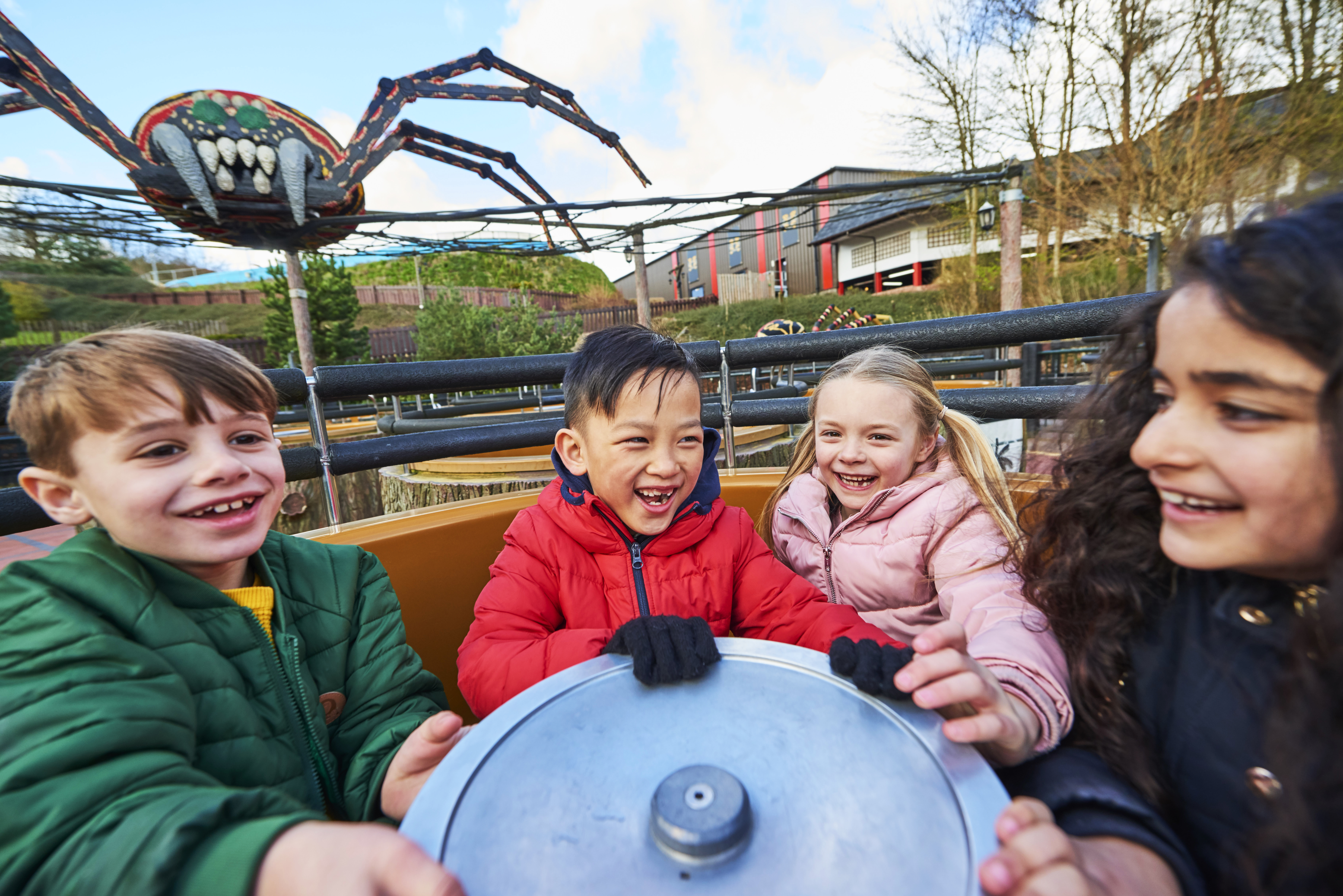 Spinning Spider at the LEGOLAND Windsor Resort