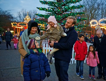 Christmas at the LEGOLAND Windsor Resort